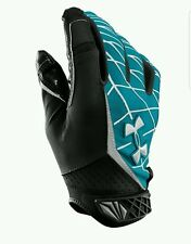 UNDER ARMOUR UA WARP SPEED MENS SKILL FOOTBALL GLOVES MEDIUM
