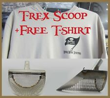 """T-Rex 9.5"""" Stainless Sand Scoop  w/Free T-Shirt,+ FAST Free Priority Shipping"""