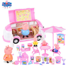 Peppa Pig George Toy Picnic Sports Car Holiday Suite Action Cartoon TV Character