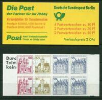 2 x Berlin MH 10 a II postfrisch 536,534,532 C + D Werte B + S Markenheftchen