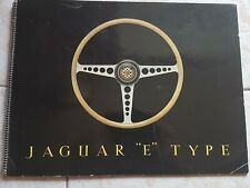 Brochure jaguar E Type Xke