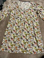Ladies Boden Tunic Top Floral Pretty Small Flowers Size 14 No Marks