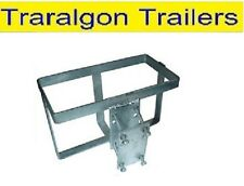 Clamp on galvanised Jerry Can jerrycan Holder bracket Camper Trailer Part ACC40