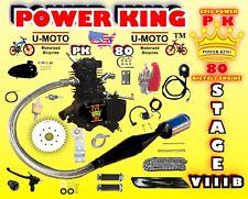 High Performance 66cc/80cc 2-Stroke Motorized Bike Kit With Venom Power Pipe Max
