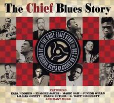 THE CHIEF BLUES STORY - 34 ORIGINAL BLUES CLASSICS (NEW SEALED 2CD)