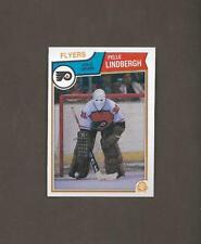 1983-84 OPC Pelle Lindbergh Rookie RC FLYERS O Pee Chee NM-MT Hockey Cards