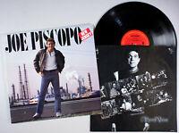 Joe Piscopo - New Jersey (1985) Vinyl LP •PLAY-GRADED• Comedy Rocky & Bullwinkle