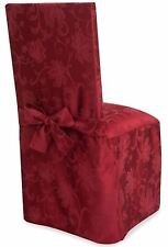 Autumn Vines Dining Chair Cover in Wine