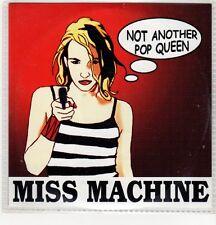 (GH572) Miss Machine, Not Another Pop Queen - 2003 DJ CD