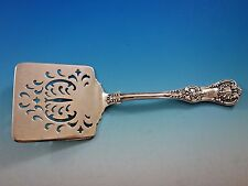 English King by Tiffany Sterling Silver Waffle Server w/Unusual Scallop Piercing
