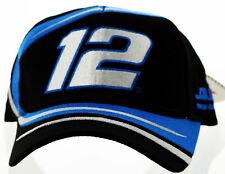 Ryan Newman Black and Blue #12 Team Caliber Nascar Racing Cap