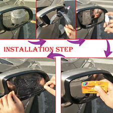 Anti Water Mist Fog Rainproof Clear Car Rear View Mirror Window Protective Films