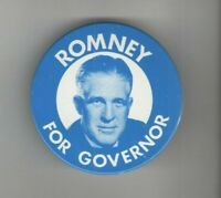 1960s pin GEORGE ROMNEY Governor MICHIGAN pinback MITT 's Father CAMPAIGN button