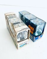 Lot Of 6 New Dead Stock Flash Cubes Sylvania Blue Dot & GE Magic Cubes Sealed