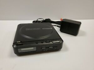 Sony D-2 Discman Vintage Cd Player 1988 Japan. Tested and Operates