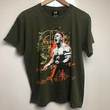 World Wrestling T-Shirt Men's S Green John Cena WWE