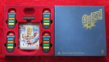 Buzz Quiz World, 4 Buzzer USB-Wireless-Buzz PlayStation 3 Spiel deutsche Version