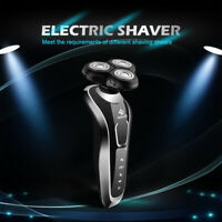 Men's 3D Rotary Electric Shavers  Rechatgeable Cordless Dry Wet Trimmer Razors