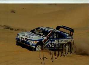 Ari Vatanen Peugeot 405 T16 Winner Paris-Dakar Rally 1989 Signed Photograph 2