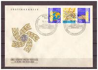 DDR, FDC Welt-Getreide- und Brotkongress, Dresden MiNr. 1575 - 1576, 1970 ESSt