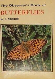 The Observer's Book Of Butterflies W. J. STOKE (Pocket sized Butterfly Guide)