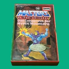 Masters of the Universe Kassette MC Folge 10 Das Geheimnis der Mystic Mountains