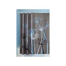 Abstract Shower Curtain Blue Grey Modern Bold Bathroom Bath Decor 72x72 Gift New