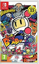 Konami Super Bomberman R Game Multiplayer Action for Nintendo Switch Ages 7