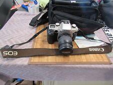 Canon Eos Elan Iie 35mm Slr Film Camera with 28-80 mm Lens Kit & Tamrac Bag