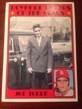 Baseball Card Topps Boyhood Photos Of The Stars Joe Torre