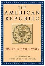 The American Republic : Its Constitution, Tendencies and Destiny (Very Good)