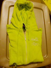 NWT  Hollister by Abercrombie Hammerland Hoodie Large Neon Green