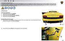 Lamborghini Gallardo LP 560 Workshop Service Repair Diagnostic Manual 07 08 09
