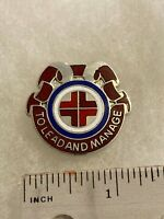 Authentic US Army 30th Hospital Center DI DUI Unit Crest Insignia G23