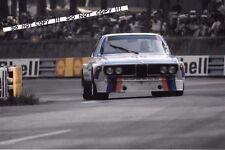 9x6 Photograph  Chris Amon  BMW 3.0 CSL , Le Mans 24hrs 1973