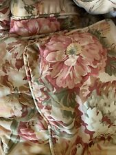Beautiful RALPH LAUREN GUINEVERE MEDIEVAL KING COMFORTER 2 Shams Mint Condition