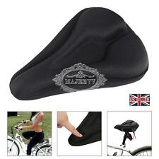 Bike Bicycle Seat Saddle Cover Extra Comfort Padding Soft Gel Cushion Gym Sores