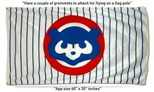 FREE SHIP TO USA Chicago CUBS 1984 COOPERSTON MLB 3x5 Feet FLAG BANNER cubbies