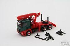 Herpa MB Arocs M Doll Zugmaschine Langholz grün/rot 312554 /HN540-1