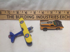 SLOT CAR #3 VINTAGE AND HIGH SPEED MINIATURE AIRPLANE No. 646  SLOTS