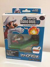 Maruka New Super Mario Bros. U Mario Fire And Goomba Action Sound Figure Stage