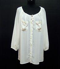 LUISA SPAGNOLI Camicia Donna Viscosa Blusa Rayon Woman Shirt Sz.L - 46