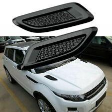 One Pair Auto Car Decorative Air Flow Intake Scoop Bonnet Side Fender Vent Hood
