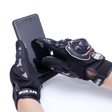 Gants de scooter moto écran tactile noir homologue CE