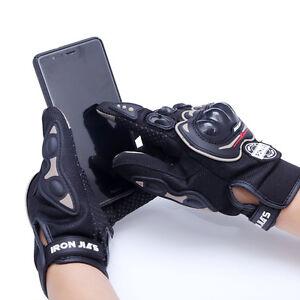 Gants de scooter moto écran tactile noir homologue CE **