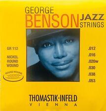 Thomastik Infeld GR112 George Benson Round Wound Guitar Strings gauges 12-53