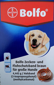 Flohhalsband Bolfo für große Hunde, Flohhalsband Hund, Zeckenhalsband Hund