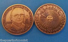Sol Radiante Token $5 LUIS ANTONIO RODRIGUEZ Arybet Medalla PONCE Puerto Rico
