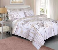 Duvet Cover sets Luxury Meadow Natural Bed Pattern Single Double & King sizes