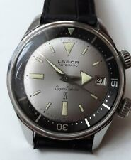 Vintage Labor Super Compressor 200m Automatic Diver's Watch Swiss MINT